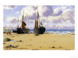 Cemaes Bay, North Wales Giclee Print by Warren Williams