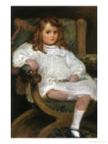 Portrait of a Little Girl Giclee Print by Charles Goldsborough Anderson