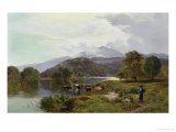 Day on the River, North Wales Giclee Print by Sidney Richard Percy