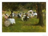 Summer Garden Party Giclee Print by Albert Chevallier Tayler
