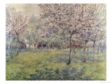 The Orchard at Blossom Time Giclee Print by Juliette Wytsman
