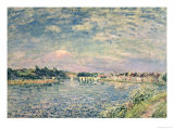 The Banks of the Seine Giclee Print by Alfred Sisley