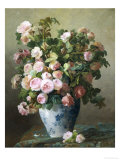 Still Life of Roses Giclee Print by Pierre Gontier