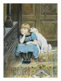 Sympathy Giclee Print by Briton Rivi&#232;re