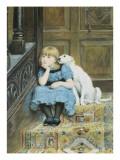Sympathy Giclee Print by Briton Rivière