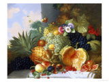 Still Life of Fruit Giclee Print by Charles Stuart
