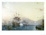 H.M.S. Victory Giclee Print by William C. Smith