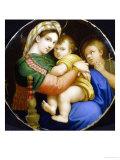 Madonna della Sedia Giclee Print by Andrea Piazza