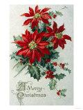 Merry Christmas - Giclee Baskı