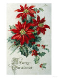 Merry Christmas Giclee Print