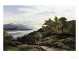 The Mawddarn Valley and Estuary, North Wales Giclee Print by Sidney Richard Percy