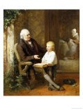 The Lesson Giclee Print by George B. O&#39;neil