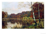 Autumn Giclee Print by Edward Wilkins Waite