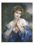 Summer Rose Giclee Print by Francois Martin-kavel