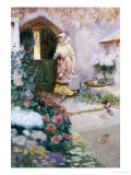 In the Garden Gicl&#233;e-Druck von David Woodlock