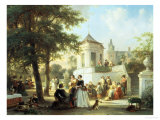 The Garden Party, c.1854 Giclee Print by Jan Ruyten