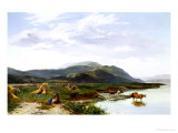 Lake Bala, North Wales Giclee Print by Sidney Richard Percy