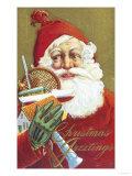 Christmas Greetings Giclee Print