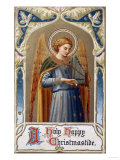 Holy Happy Christmastide Giclee Print