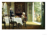 Her Hand in Marriage Giclee Print by Walter Sadler