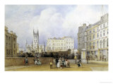 St. Saviour's Church, Southwark Giclee Print by George Sidney Sheperd