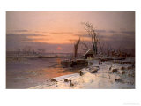 On the Estuary Giclee Print by Charles Brooke Branwhite