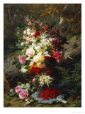 Still Life with Raspberries Giclee Print by Jean Baptiste Claude Robie