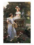 In the Garden Giclee Print by Wilhelm Menzler