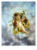The Seasons: Autumn Giclee Print by Charles Lutyens