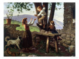Rescuing the Birdsnest Giclee Print by Antonio Paoletti