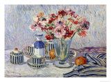 Still Life with Anemones Giclee Print by Paul Mathieu