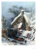Taylor's Farm, Rudhall Giclee Print by John Ernest Croft
