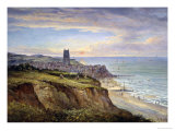 View of Cromer, Norfolk, from the East Giclee Print by John Moore