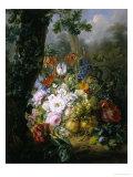 Profusion of Flowers Giclée-Druck von Julie Van Marcke