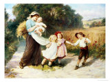 Happy Days Giclee Print by Frederick Morgan