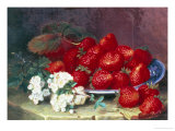 Strawberries Giclee Print by Eloise Harriet Stannard