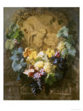 Tribute to Bacchus Giclee Print by Jean Baptiste Claude Robie