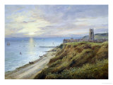 View of Cromer, Norfolk, from the West Giclee Print by John Moore