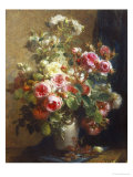 Vase of Flowers Giclee Print by Jean-etienne Maisiat