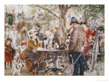 Way Out Giclee Print by Adolph von Menzel