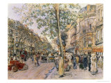 View of Paris Giclee Print by Frederic Anatole Houbron