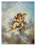 The Seasons: Spring Giclee Print by Charles Lutyens