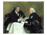 Drinking Companions, c.1876 Giclee Print by David Oyens
