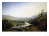 View of Richmond, Yorkshire Reproduction procédé giclée par Edmund Niemann