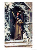 Christmas Cheer Giclee Print by George S. Knowles