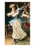 Basketful of Cherries Giclee Print by Francesco Vinea
