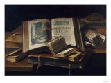 Books of Pleasure, 17th Century Giclee Print