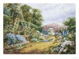 English Country Garden Giclée-Druck von Henry Stannard