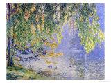 Summer Reflections Giclee Print by Fernand Lantoine