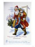 May You Have a Happy Christmas Giclee Print